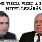 HITEL LEZÁRÁS – ÖNTSÜNK TISZTA VIZET A POHÁRBA