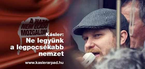 KÁSLER ÁRPÁD ÜZENETE.