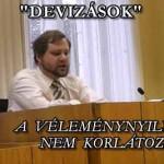 """""""DEVIZÁSOK"""" A VÉLEMÉNYNYILVÁNÍTÁS NEM KORLÁTOZHATÓ"""