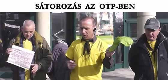 SÁTOROZÁS AZ OTP-BEN.