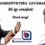 A BANKSZÖVETSÉG FÉLPÁLYÁS LETÁMADÁSA