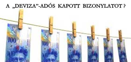 """A """"DEVIZA""""-ADÓS KAPOTT BIZONYLATOT?"""