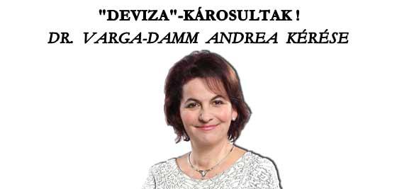 DR. VARGA-DAMM ANDREA KÉRÉSE.