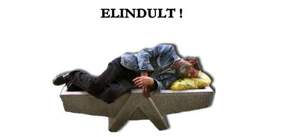 ELINDULT!