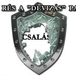 """ÚJABB RÉS A """"DEVIZÁS"""" PAJZSON"""