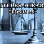 HITELES HÍRADÓ 2016-05-25