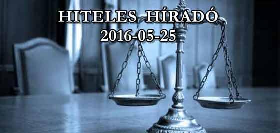 HITELES HÍRADÓ 2016-05-25.