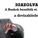 IGAZOLVA: A BANKOK BESZÉLTÉK RÁ ÜGYFELEIKET A DEVIZAHITELRE.