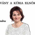 BEADVÁNY A KÚRIA ELNÖKÉHEZ-DR. DAMM ANDREA