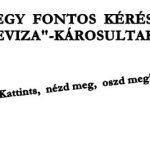 """EGY FONTOS KÉRÉS A """"DEVIZA""""-KÁROSULTAKHOZ"""