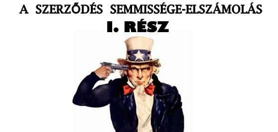 A SZERZŐDÉS SEMMISSÉGE-ELSZÁMOLÁS I.RÉSZ.