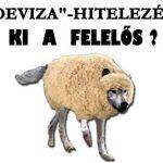 """""""DEVIZA""""-HITELEZÉS. KI A FELELŐS?"""