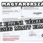 EZ MAGYARORSZÁG:A BANK ELLENI VÉGREHAJTÁS BETEGSÉG MIATT ELMARAD!
