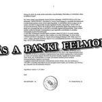 REAGÁLÁS A BANKI FELMONDÁSRA.