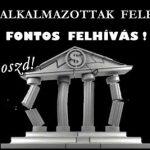 A BANKI ALKALMAZOTTAK FELELŐSSÉGE-FONTOS FELHÍVÁS!