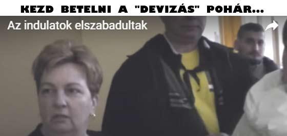 """KEZD BETELNI A """"DEVIZÁS"""" POHÁR..."""
