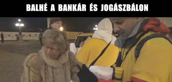 BALHÉ A BANKÁR ÉS JOGÁSZBÁLON.