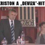"""DR. KRISTON A """"DEVIZA""""-HITELRŐL."""