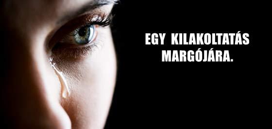 EGY KILAKOLTATÁS MARGÓJÁRA.