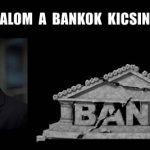 FELVÁLLALOM A BANKOK KICSINÁLÁSÁT!