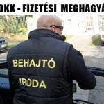 MOKK-FIZETÉSI MEGHAGYÁS!
