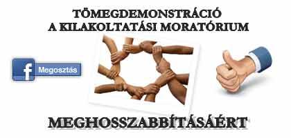 Kilakoltatási moratórium 2015: a kilakoltatás a banknak sem jó !
