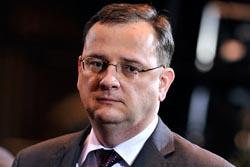 Petr Necas cseh miniszterelnök egyelőre hallgat